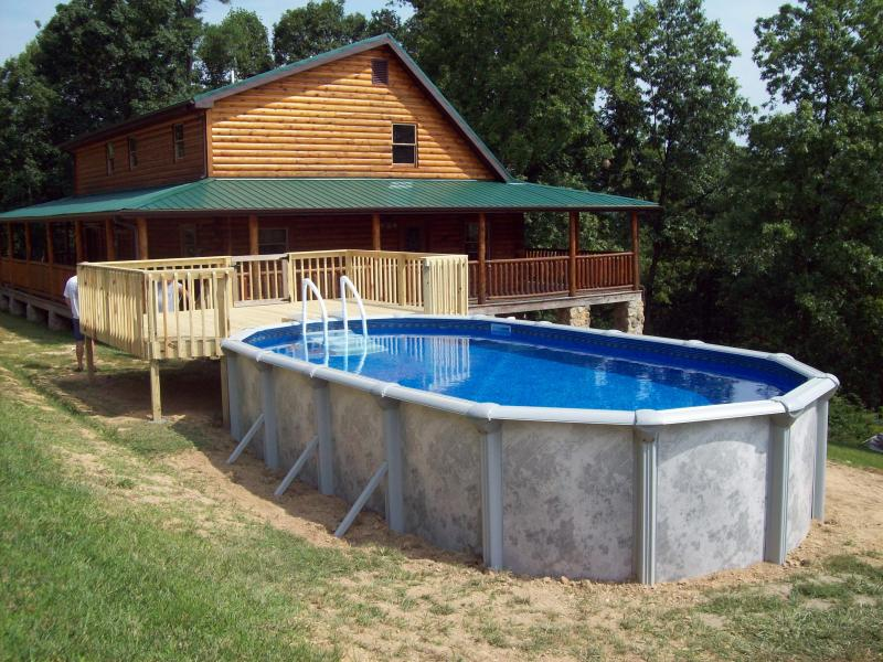 C w parsons company pools above ground pool packages for Cheap above ground pool packages