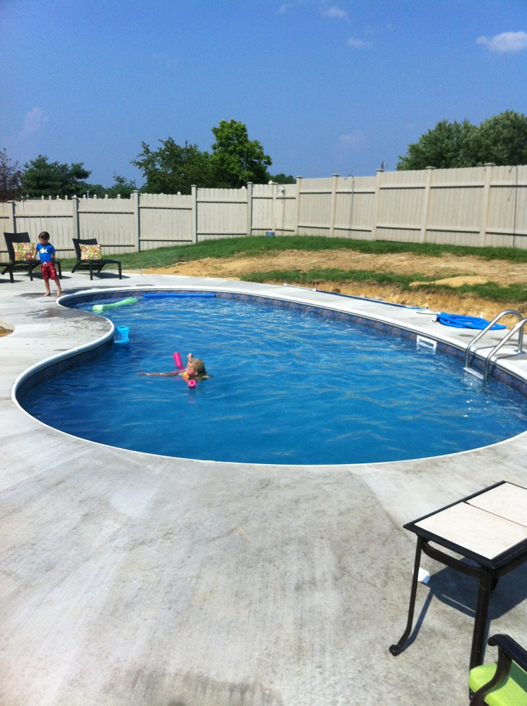 C w parsons company pools home for Inground pool companies